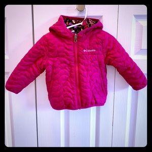 (Columbia) Toddler Girl's Reversible Jacket